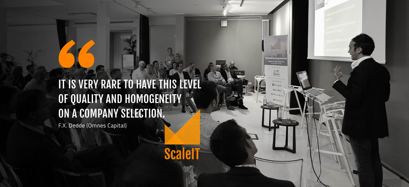 Italdron è una delle 15 start-up italiane selezionate da ScaleIT