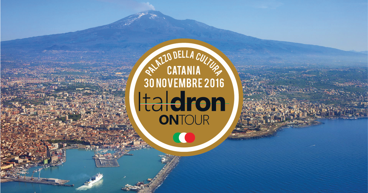 Seconda tappa di Italdron On Tour: Catania