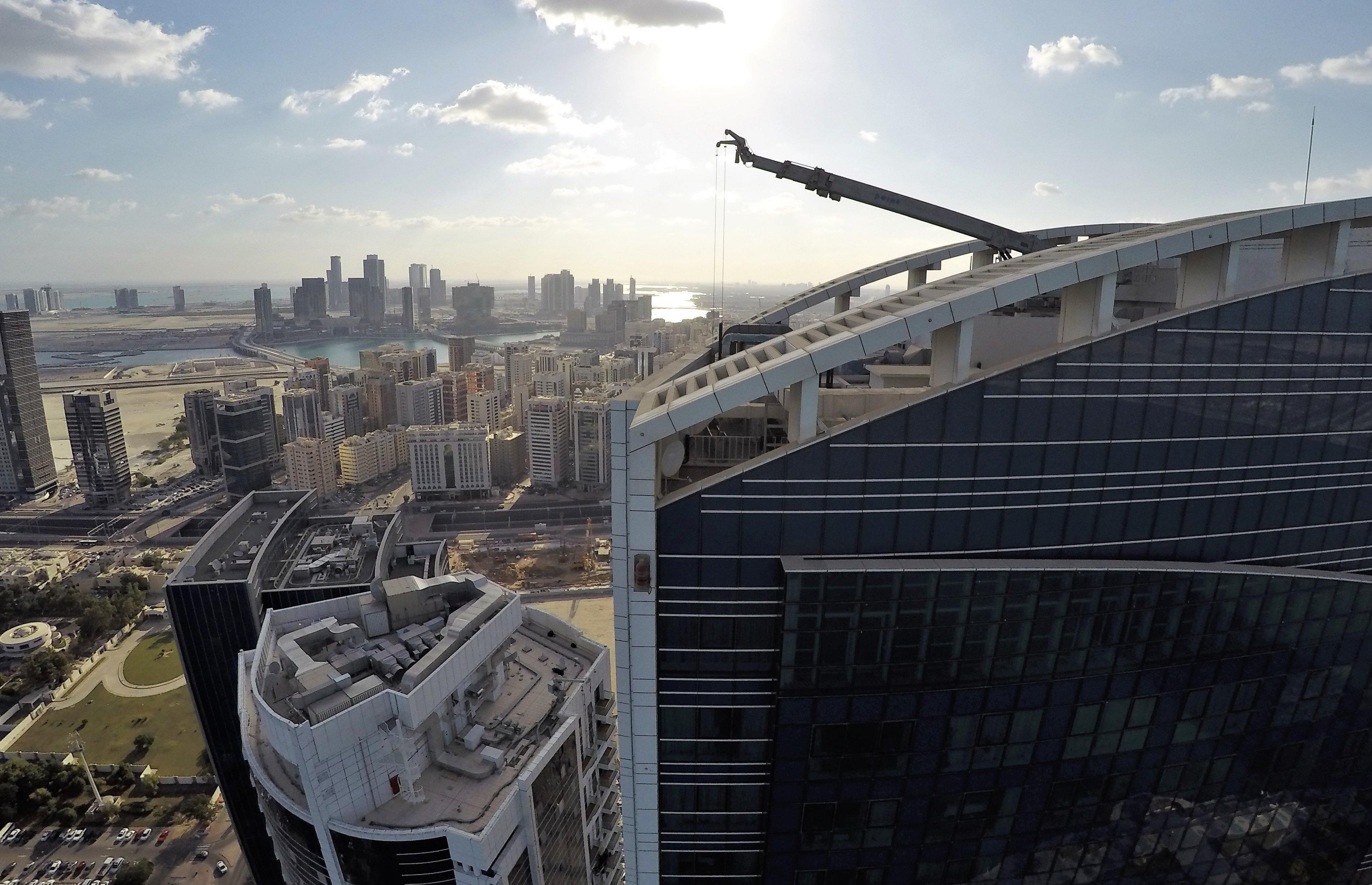 Italdron e la sfida araba di Etihad Towers