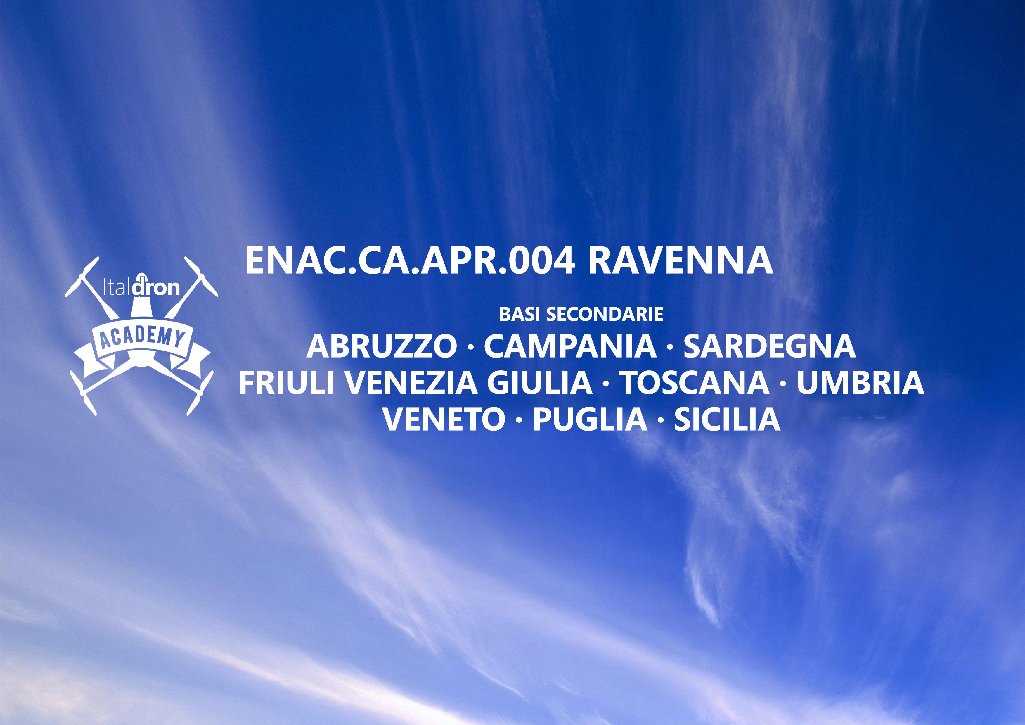 Italdron Academy - nuove basi in Puglia e Sicilia