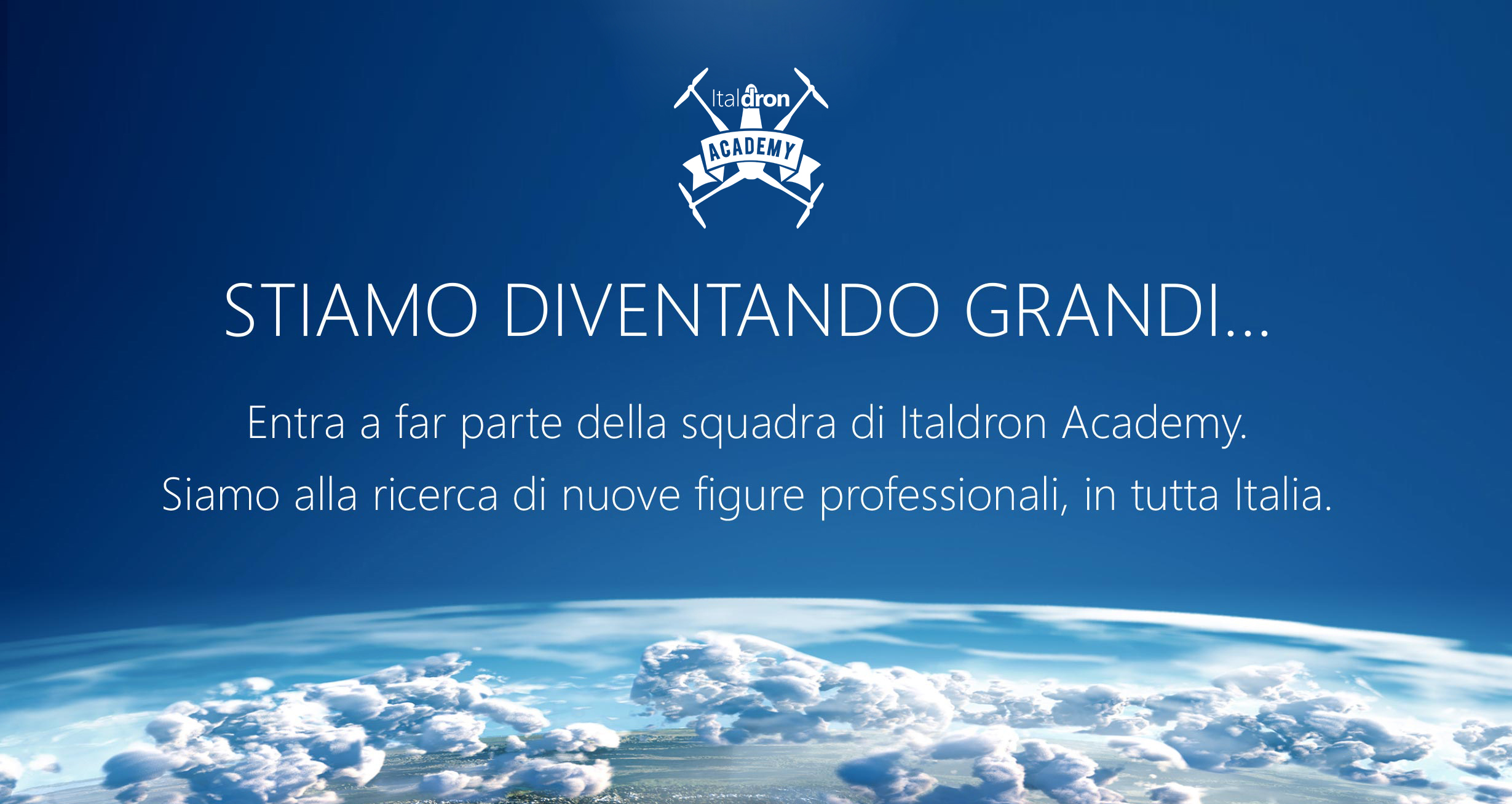 Recruiting Italdron Academy