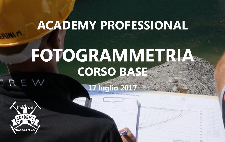Corso base di Fotogrammetria · 17 Luglio 2017
