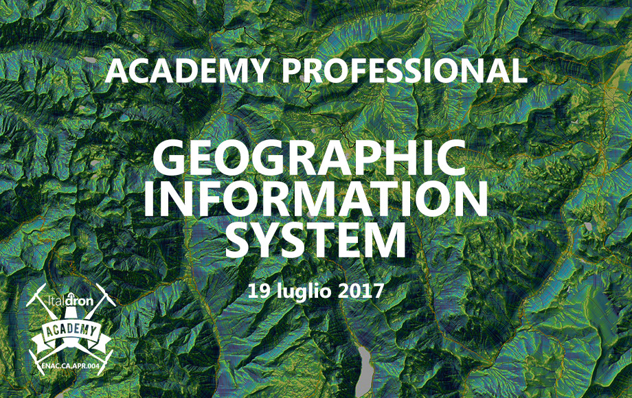 Academy Professional · Corso GIS 19 luglio 2017