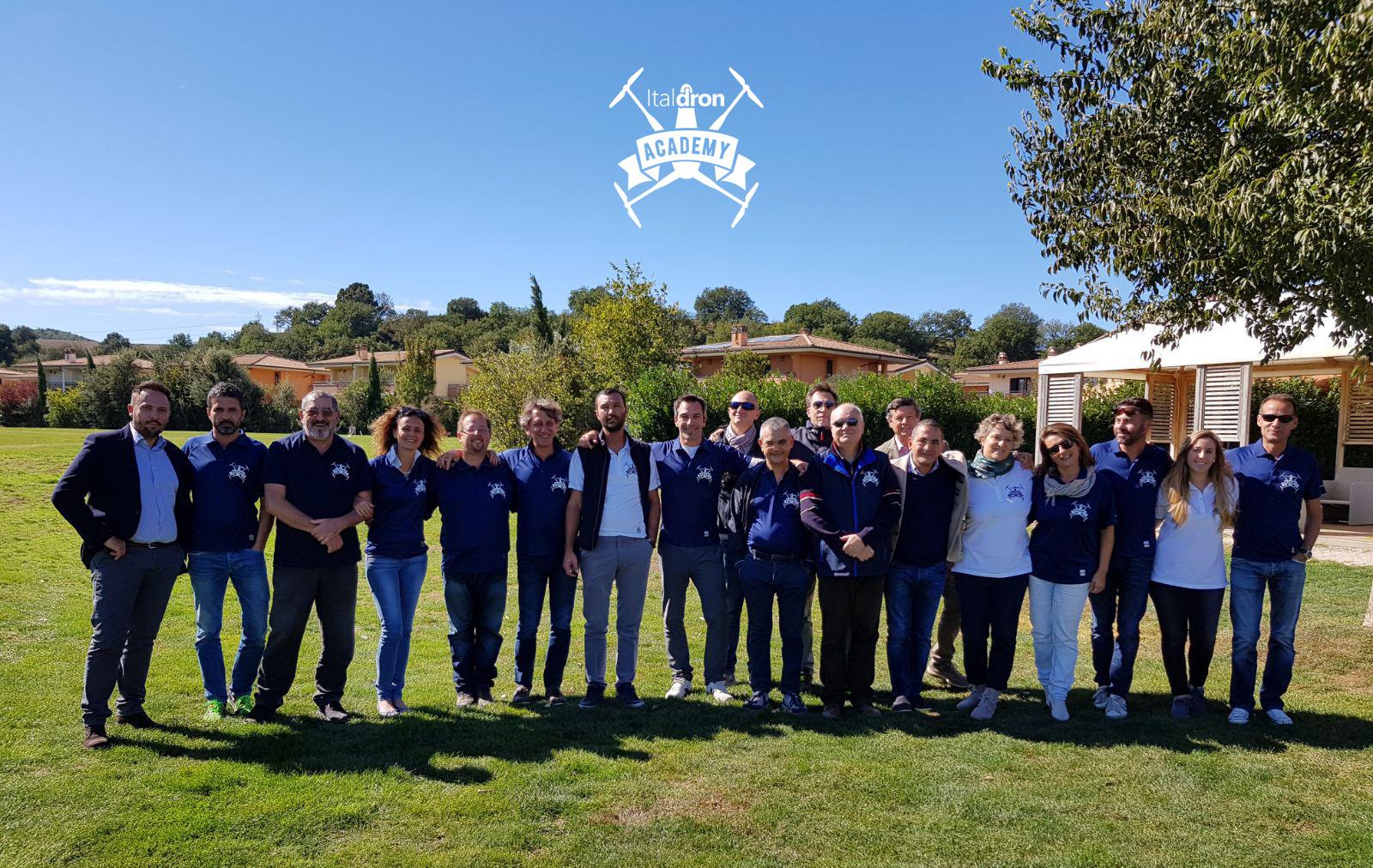 Italdron Academy - Nuova base nel Lazio