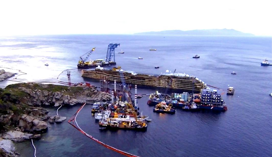 Concordia: The Parbuckling Project