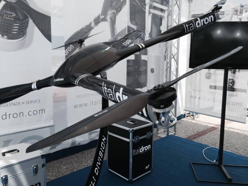 Italdron conquista Roma Drone
