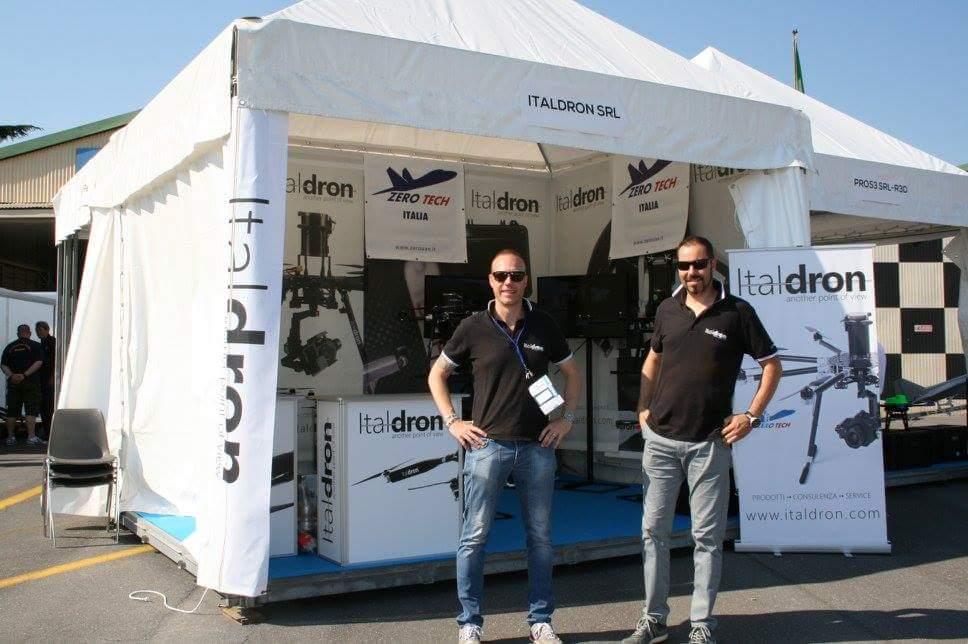 Italdron al DroneExpo di Villanova d'Albenga