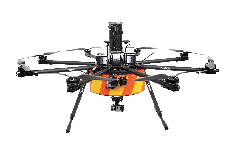 Italdron realizza il primo drone che sorvolerà il Circolo Polare Artico