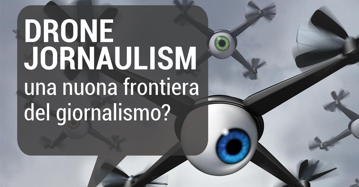 """Italdron in cattedra al workshop """"Drone Journalism"""" organizzato dall'Istituto Nobile"""