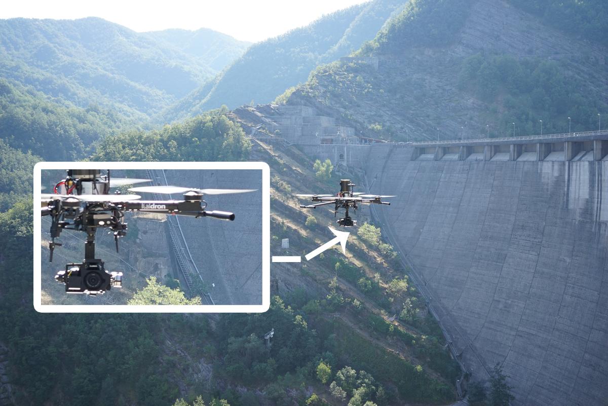 AerofotoGrammetria a 36 Megapixel: le fotografie originali della Diga di Ridracoli