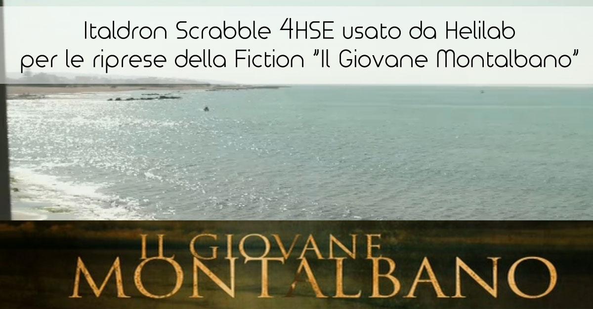 """Italdron Scrabble 4HSE usato da Helilab per le riprese della Fiction """"Il Giovane Montalbano"""""""