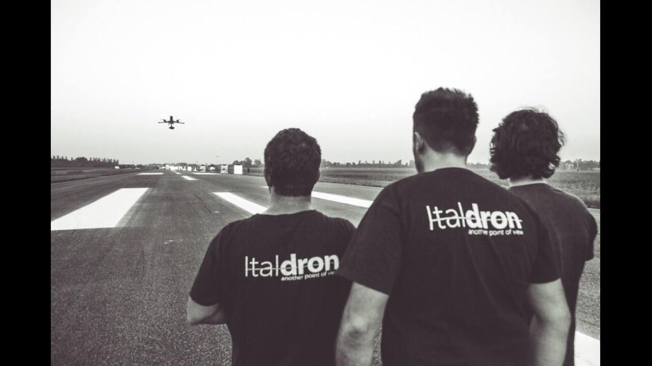 Ligabue sceglie Italdron per filmare la terza edizione di CampoVolo