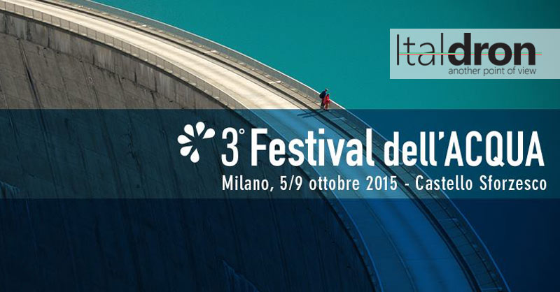 Italdron protagonista del Festival dell'Acqua 2015