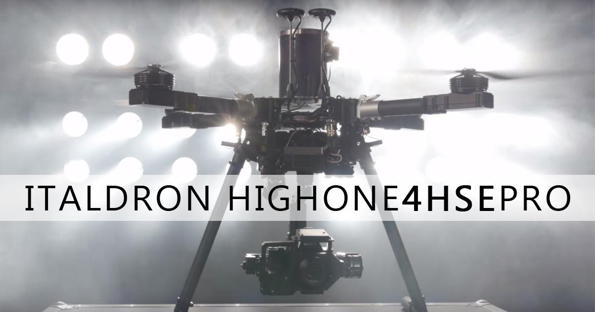 Le 3 Principali Applicazioni Professionali di Italdron HighOne 4HSE PRO