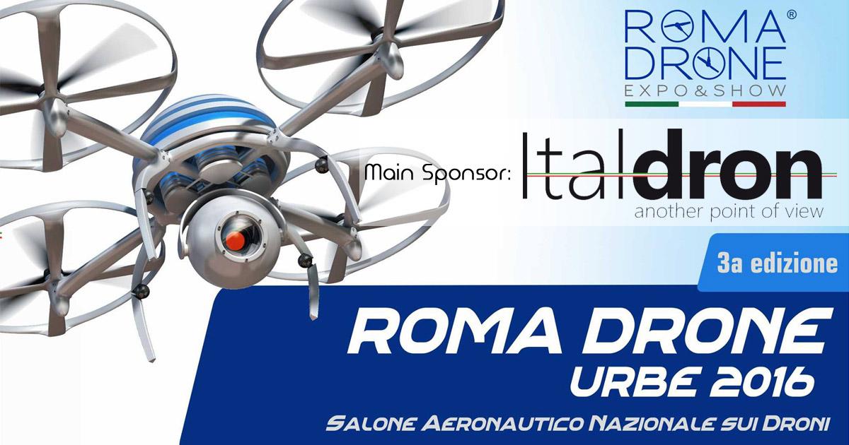 Italdron protagonista di Roma Drone con Droni Professionali ed FPV