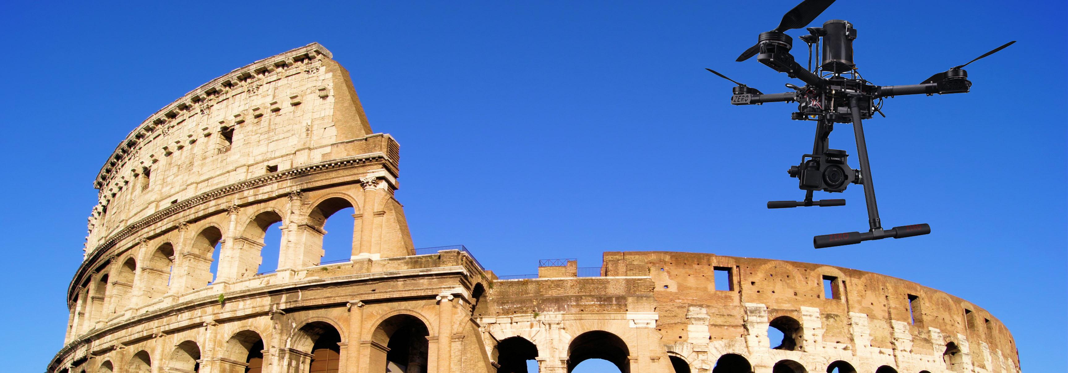 Italdron Autorizzato da ENAC a volare a Roma in scenario critico