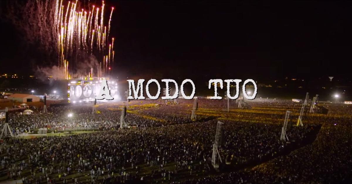 """""""A modo tuo"""": il video del nuovo singolo di Ligabue con le immagini del dirigibile Italdron"""