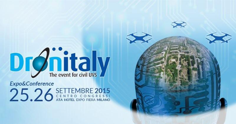 Italdron a Dronitaly 2015: Made in Italy e formazione per far crescere il mondo dei SAPR