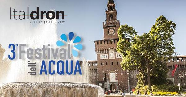 Italdron in cattedra al Festival dell'Acqua al Castello Sforzesco di Milano