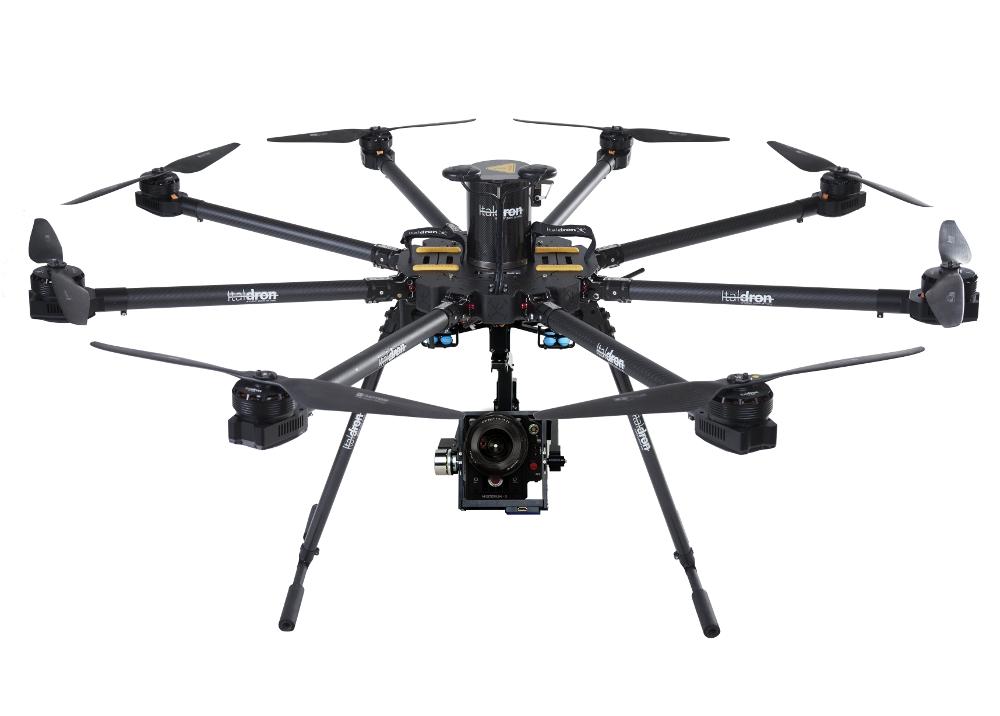 drone professionale bigone 8hse: produzione e vendita droni professionali italdron
