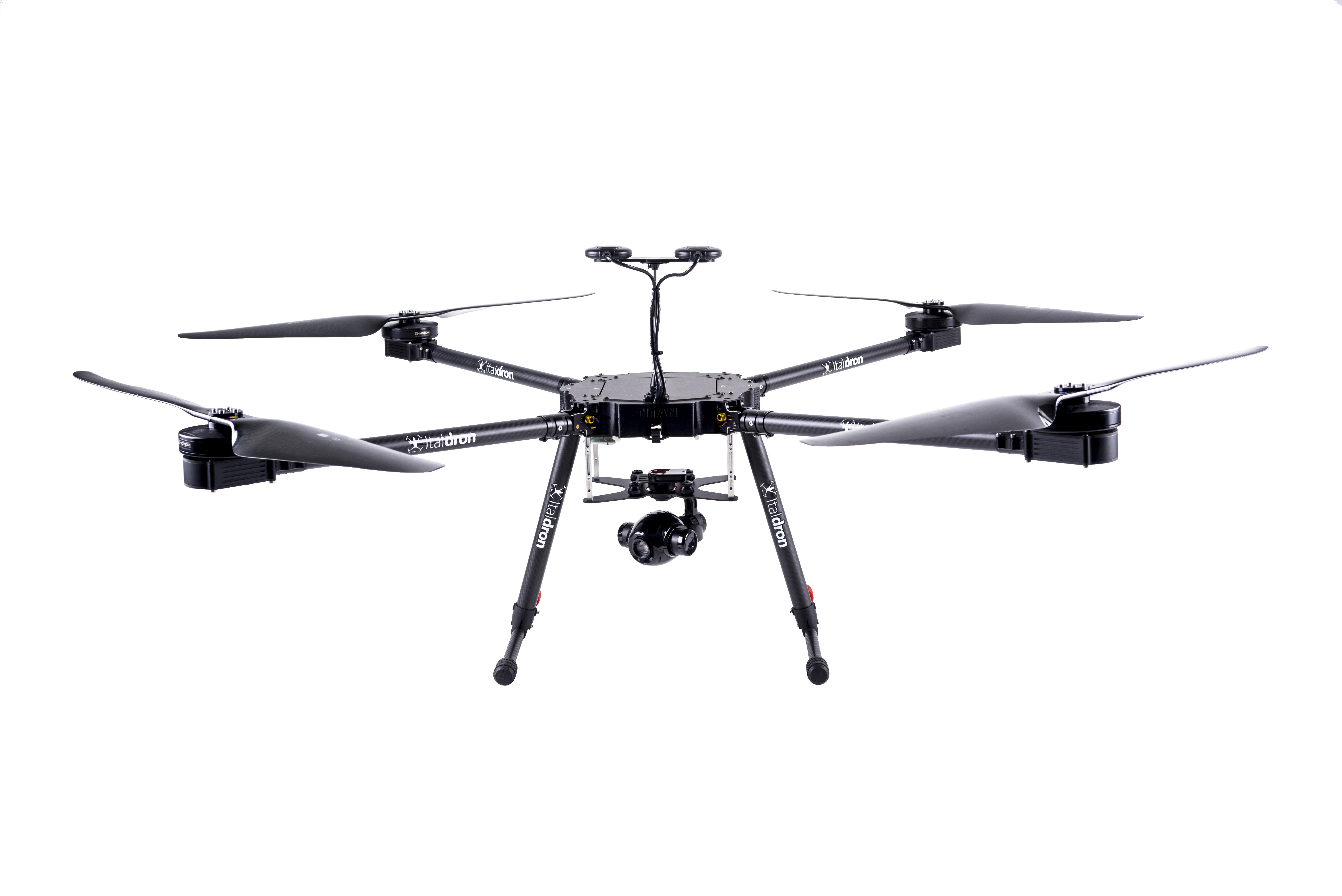 drone professionale Titan XLE: produzione e vendita droni professionali italdron