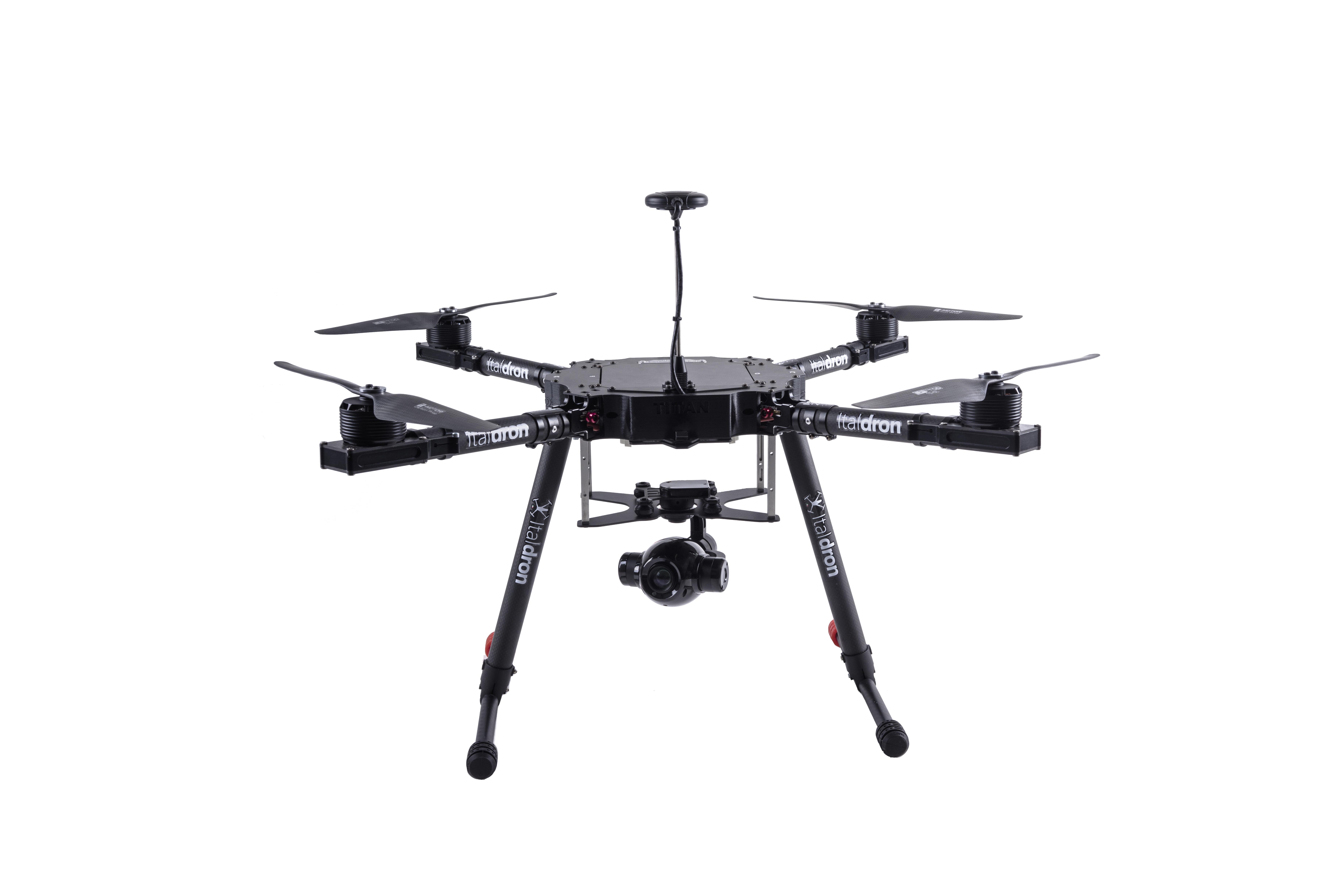 drone professionale titan 4hse: produzione e vendita droni professionali italiani