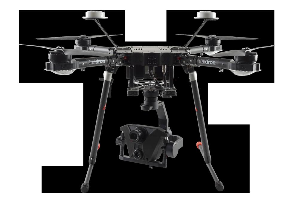4hse evo : progettazione e vendita droni professionali e sistemi apr italdron