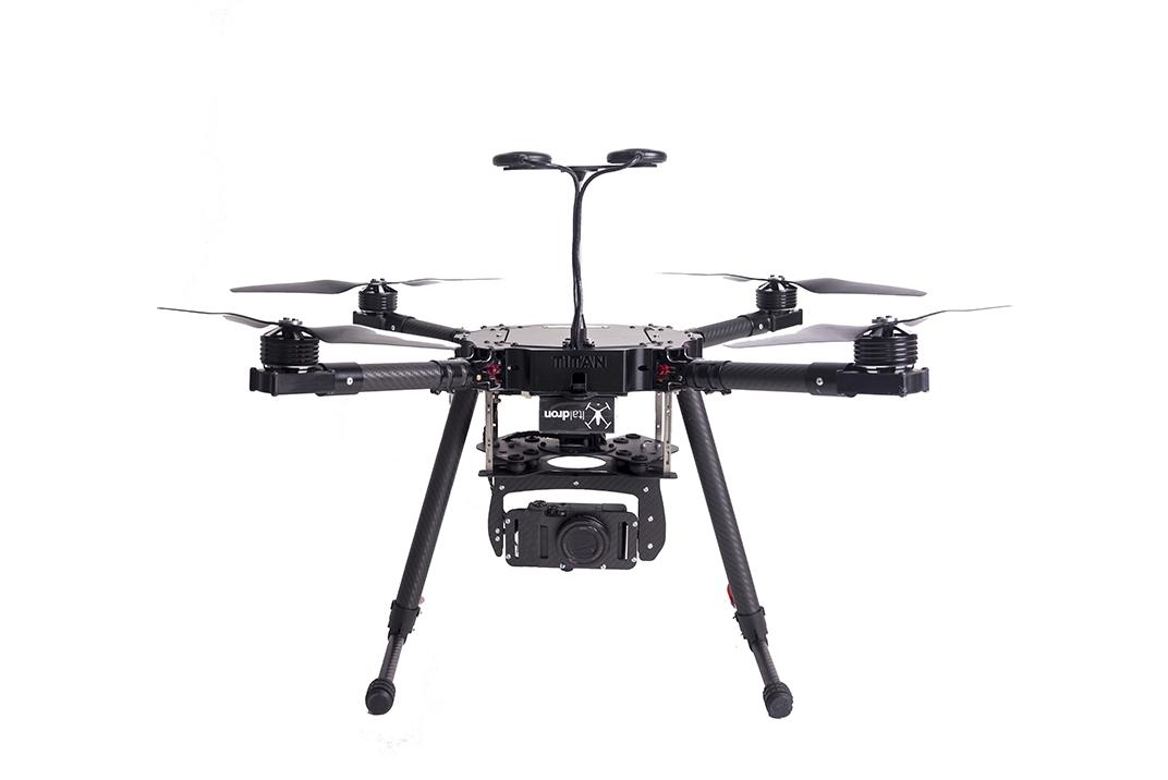 drone professionale titan 4hse mapper: produzione e vendita droni professionali italiani