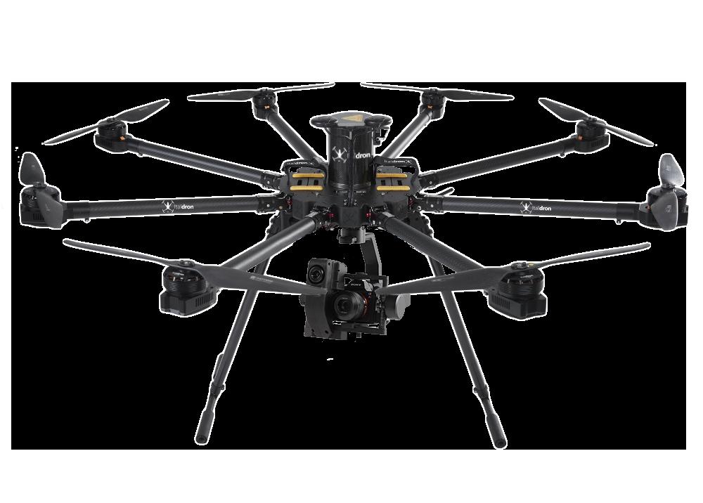 bigone 8hse liddar: progettazione e vendita droni professionali e sistemi apr italiani
