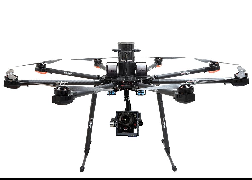 produzione e vendita droni professionali italdron: bigone 8hse
