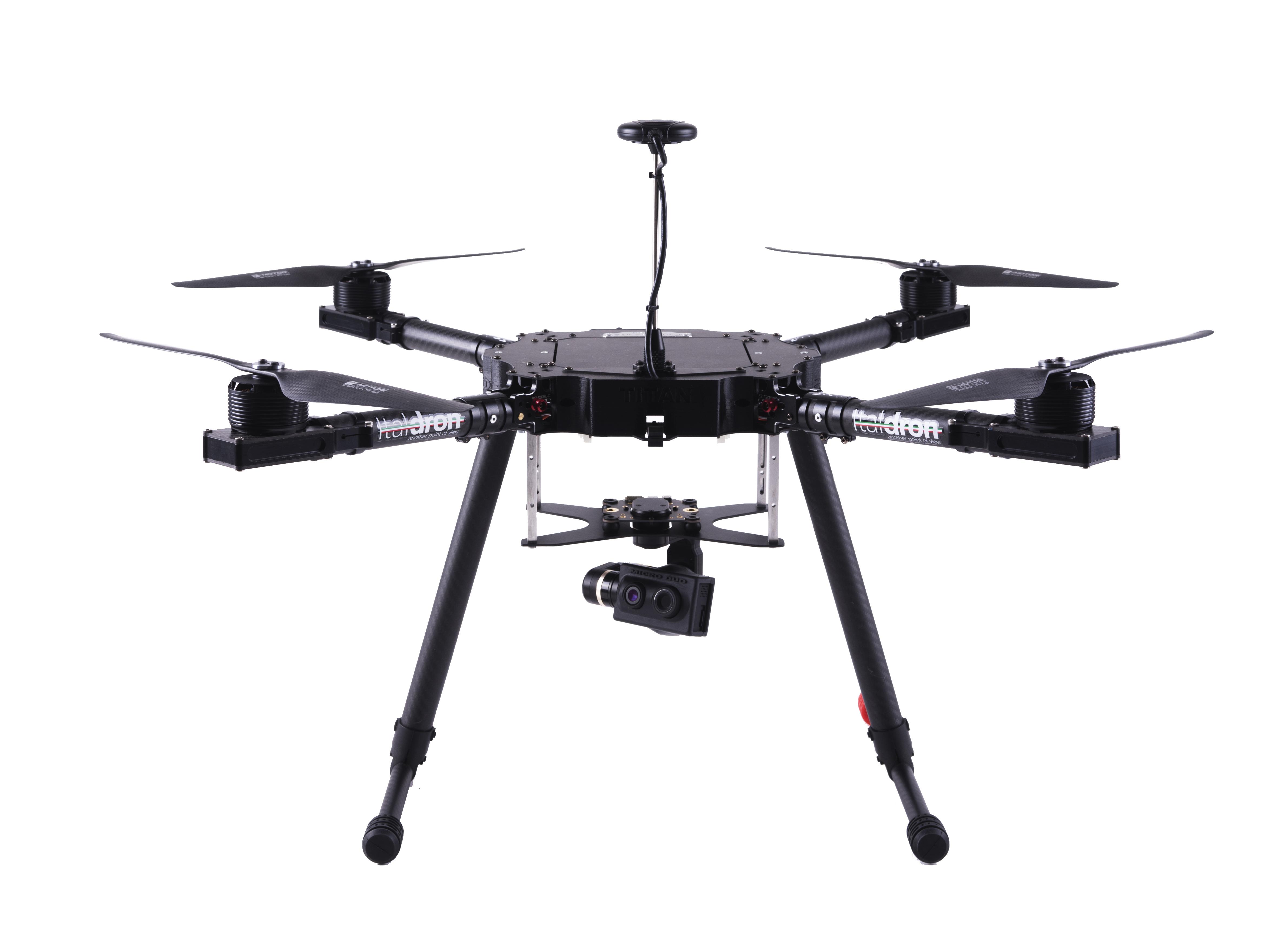 Drone professionale Titan MicroDuo 4hse