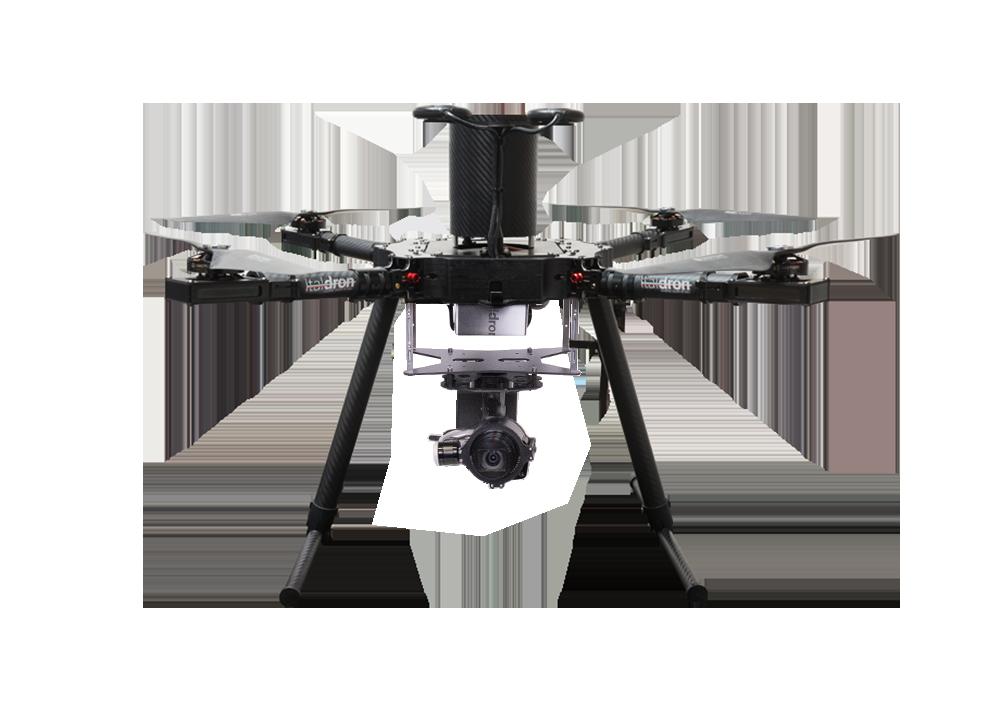 drone professionale titan 4hse isr