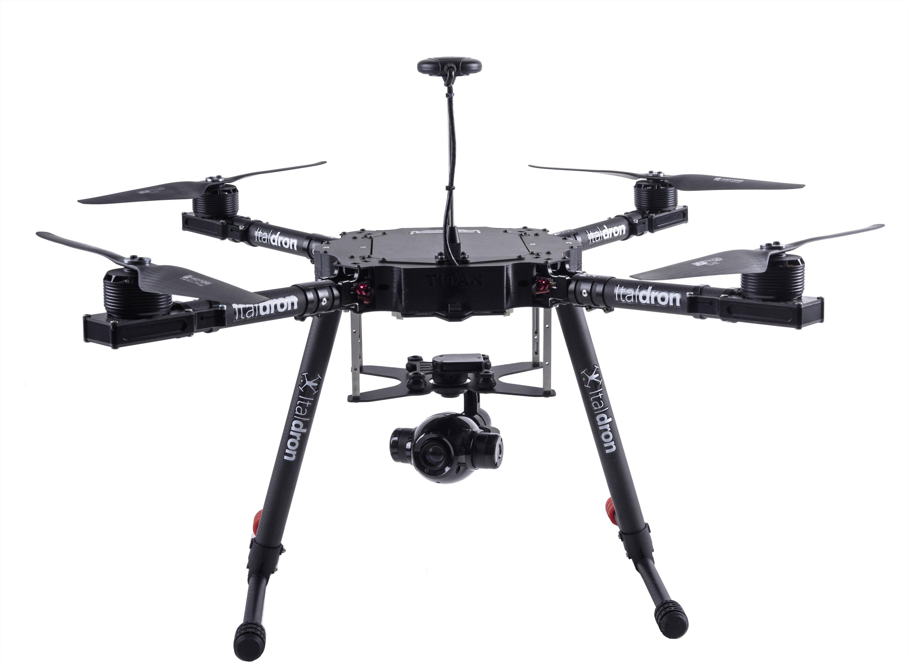 produzione e vendita di droni professionali italdron: titan 4hse