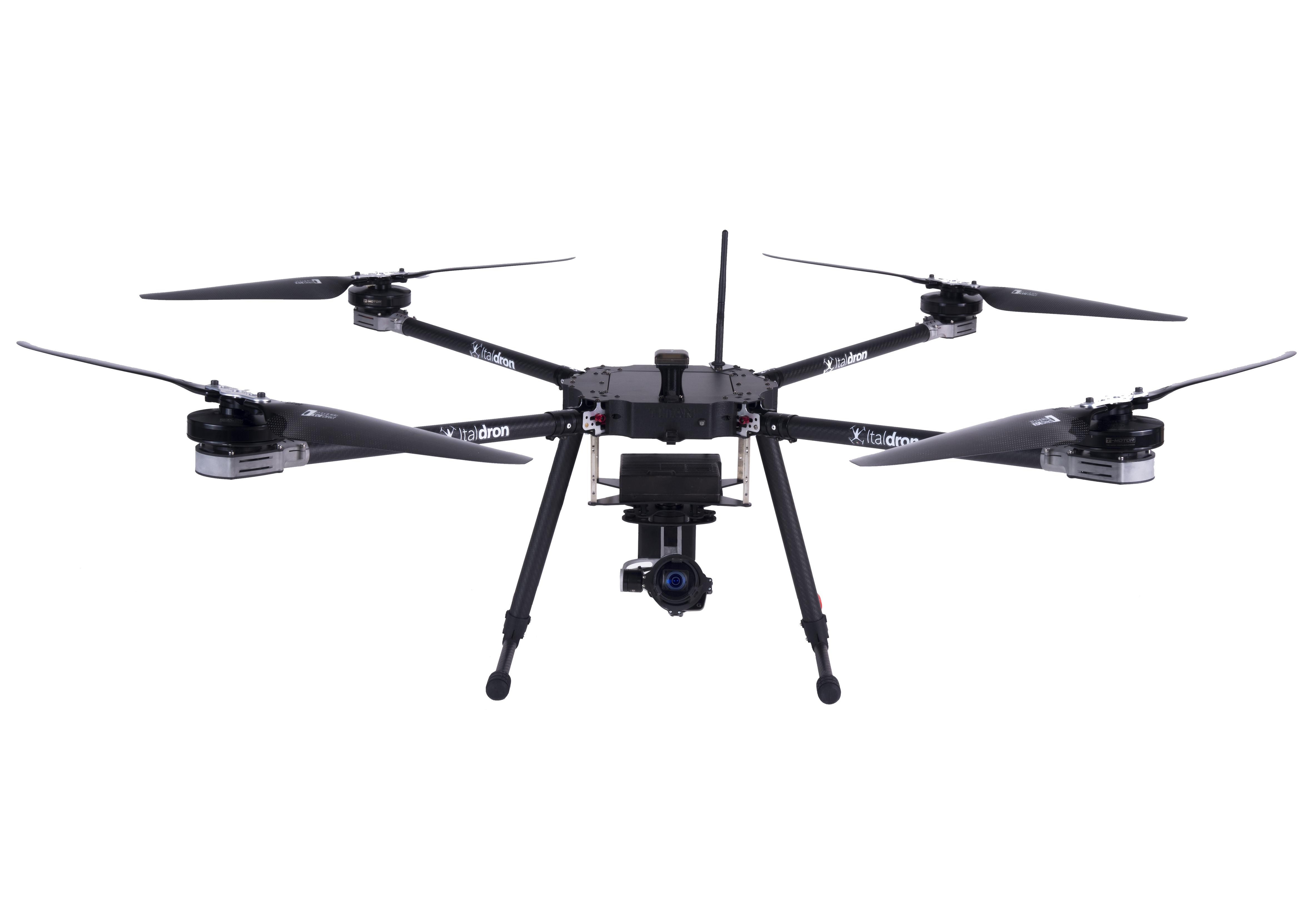 titan xlw: progettazione e vendita droni professionali e sistemi apr italiani