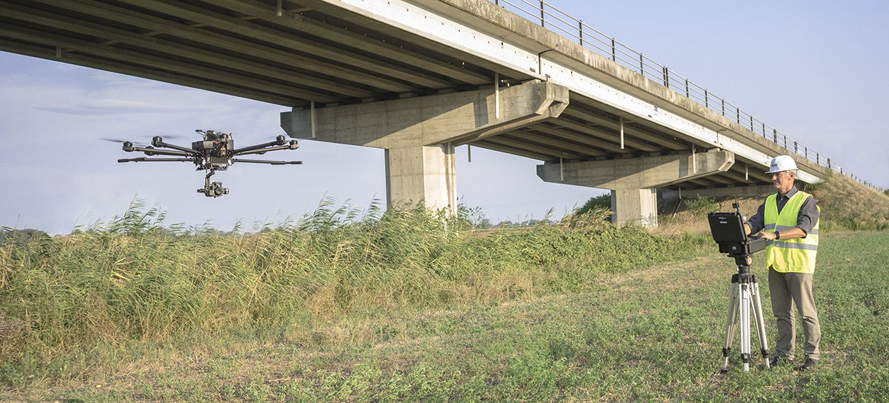 droni professionali italdron: bigone 8hse