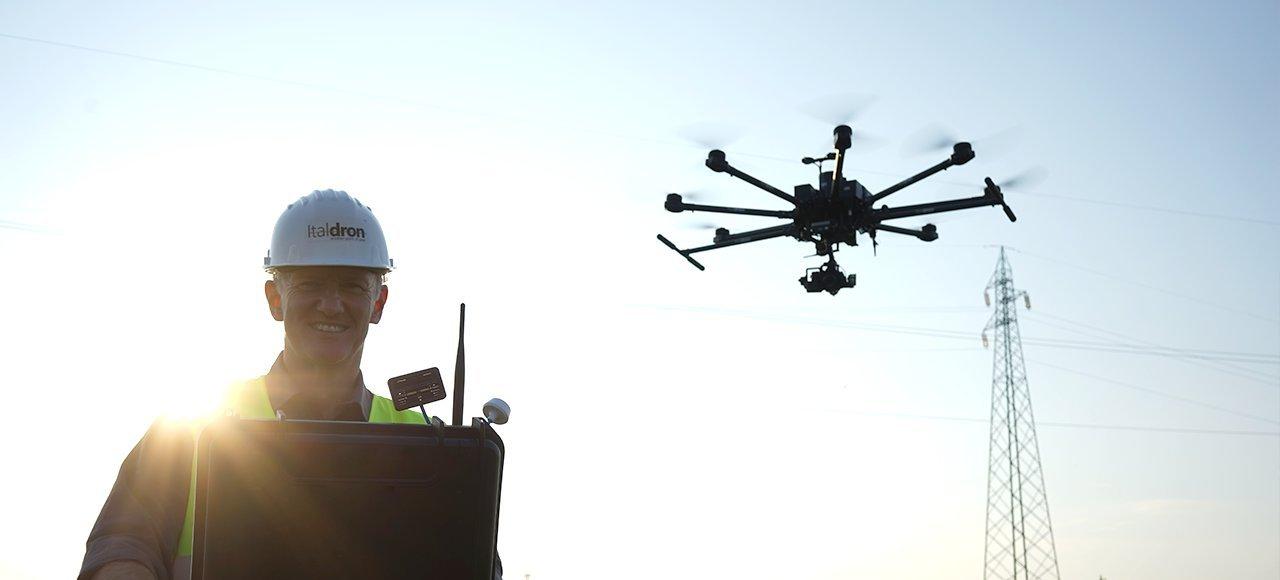 network di operatori di droni professionali