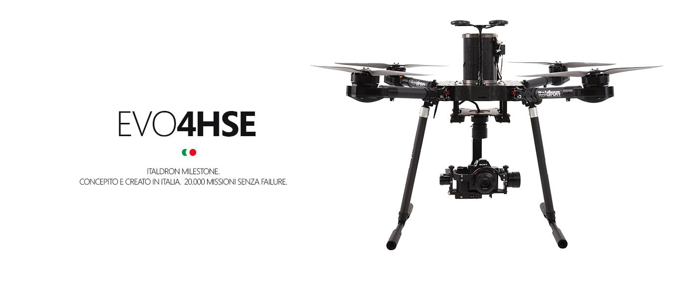GCS 2016 per droni professionali Italdron