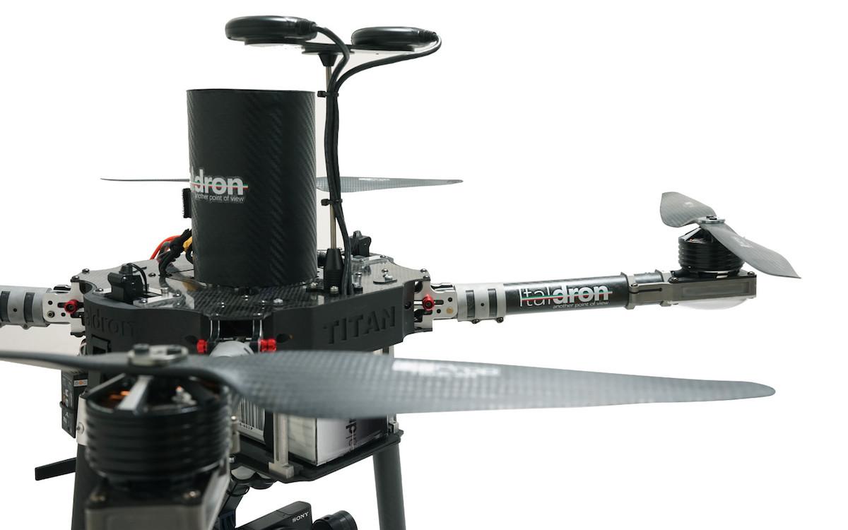 Drone professionale Italdron Titan 4HSE