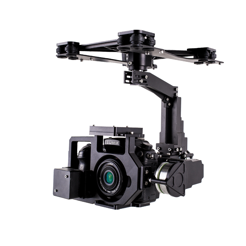 optimized gimbal for professional drone