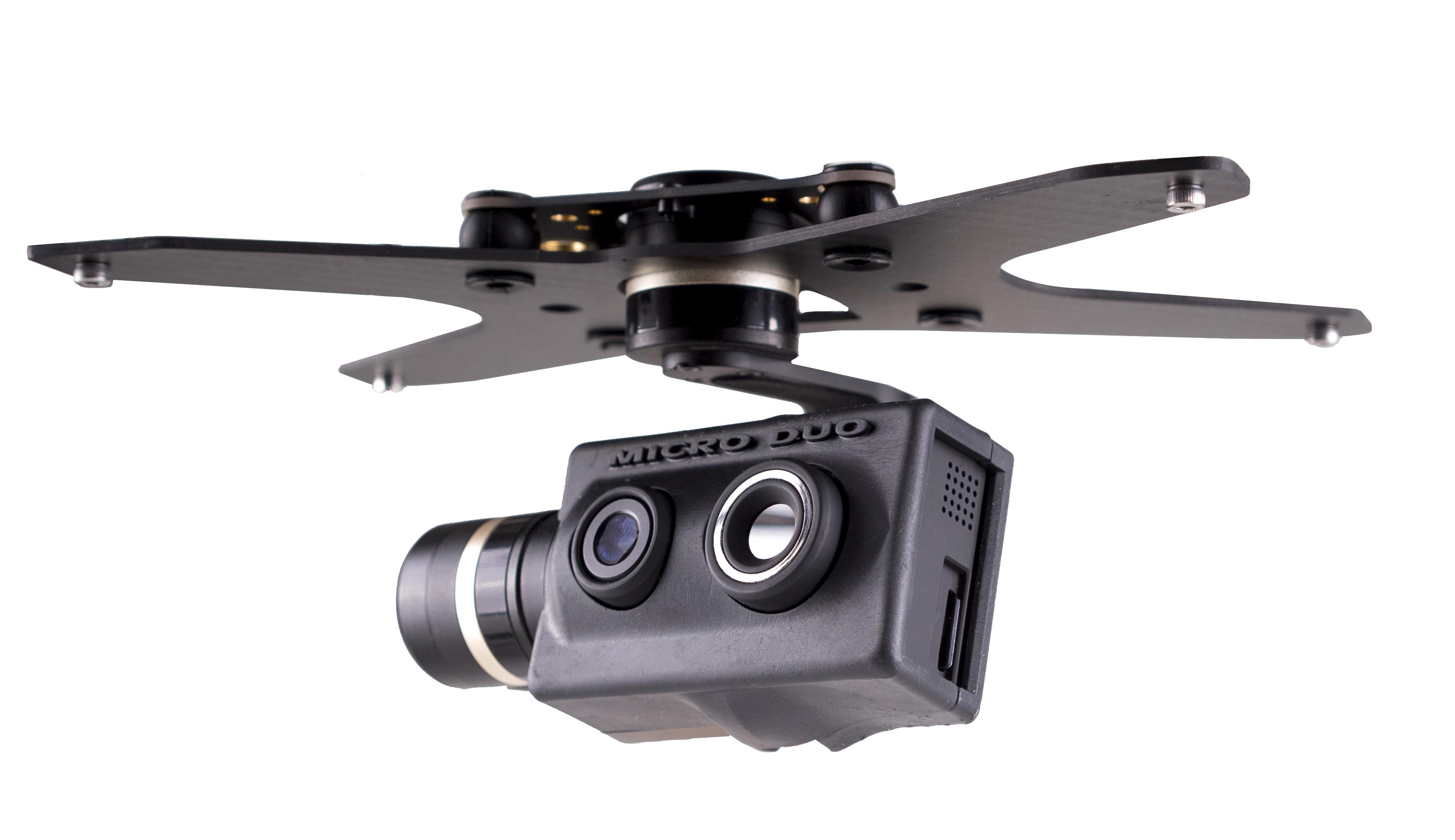 payload MicroDuo per droni professionali