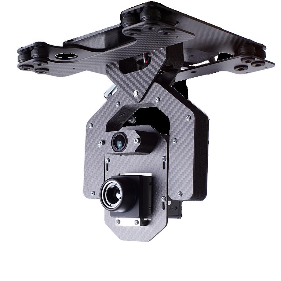 payload multisensore thermal per droni professionali