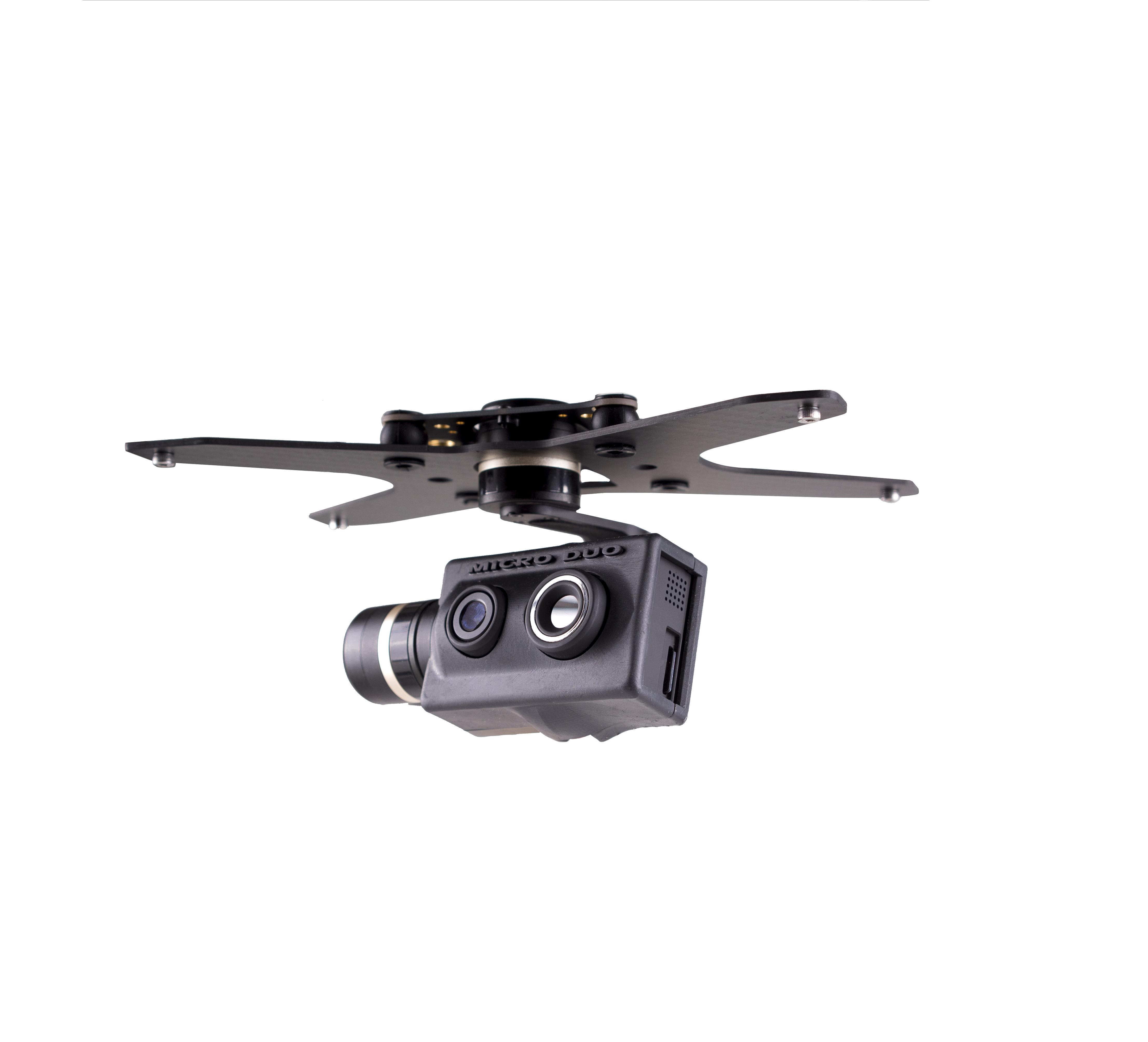 payload per drone professionale per ispezioni termiche e visibili