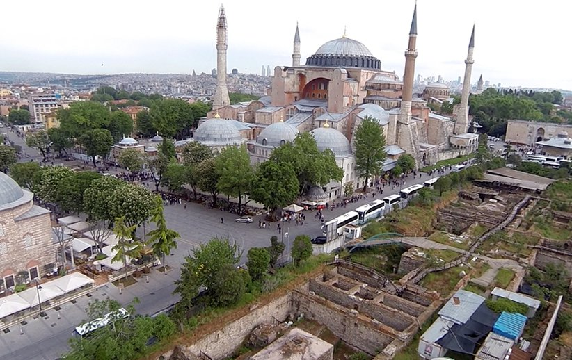ricostruzione della citta di istambul effettuata con droni professionali