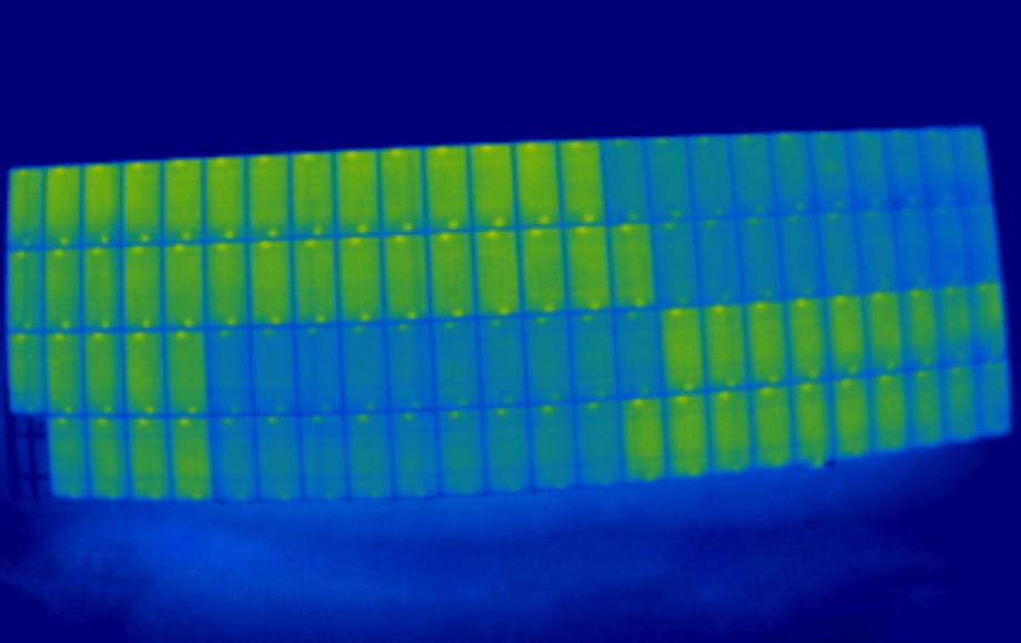 ispezioni di un impianto tecnologico tramite droni professionali