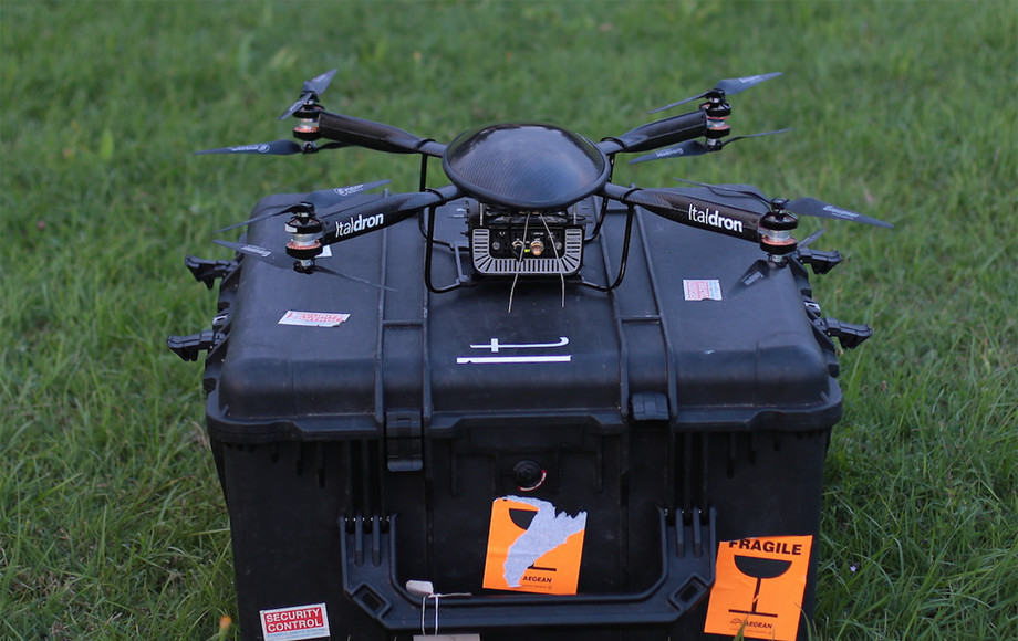 servizi di live streaming con droni professionali