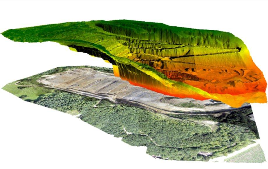 analisi delle curve di livello mediante droni professionali